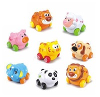animal toys car,child small naughty animal child baby cartoon toy,car model,cars for kids,plastic toy cars