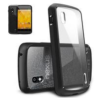 [Black] Google Nexus 4 Ringke Fusion Premium Hybrid Hard Case Cover Eco Package