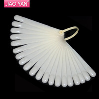 20 tips Fan-Shaped Nail Art Display Clear Chart for Polish Gel Display Tool #1254   Wholesale Free UPS/DHL/FedeEx shipping