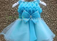 Retail children clothes kids clothing, girls dresses, girl summer frozen fish scales dress