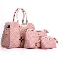 Hot new fashion women handbag 2014 autumn & winter women messenger bags shoulder bag lash three-piece suit crossbody bag tote