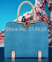 Fashion Brand Korean Style Women Handbags Totes Bags Messenger Cross body Shoulder Bag Fisheye Grain  V Shape