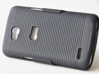 New Black Combo Clip Belt Holster Stand Hard Case For LG L80 For LG Series III L80 D373 Case Cover Free Shipping