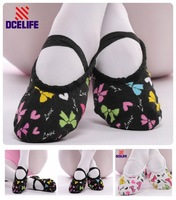 Fashion Lady Breathable Antibacterial Girl Nice Elasticity Wear Resistance Ballet Dance Shoes For Women Free Shipping SESH04