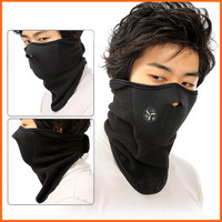 Outdoor Sports Fleece Face Mask Winter Ski Snowboard Hood Windproof Neck Warm Motorcycle Cycling Cap Hat Bicyle Thermal Scarf