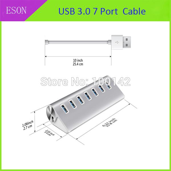 USB разветвитель ESON 7 USB 3.0 10/USB 3.0 CA000261 sinocmp throttle position potentiometer 7861 92 4130 for komatsu pc 5 excavator