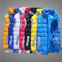 2014 spring autumn  female fashion casual Cotton vest women plus size slim vest thermal down cotton vest female all-match