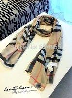 2014 BRAND New design Silk Shawl Chiffon wrap plaid knit echarpe autumn  pashimina Print cotton fashion Scarf For Women scarfs