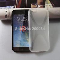 "FEDEX 100X For iphone 6 iphone6 4.7"" anti skid x line tpu gel cases case capa cover carcasa funda housse coque Custodia kryty"