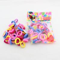 Wholesale baby color elastic hair bands/ hair holder Cute hair ties/  HL140