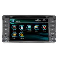 Free shipping car radio dvd player  for Subaru Forester/ Impreza with GPS/IPOD/Bluetooth/steering wheel control