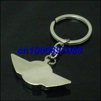 Free Shipping Mix Car Key Chain Mini 3D 500pcs  Men's Car Keychains Keyrings Key Ring Chain Rings Keychain