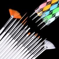 20pcs Nail Art Design Painting Dotting Drawing Polish Dotting Painting Brush Pen Tools Set New