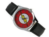 DC Universe The Flash Superhero Leather Band Boy Child Fashion Watch  Wrist Wholesale