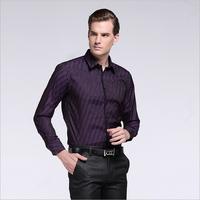 2014 men's fashion casual business classic striped cotton long-sleeved shirt BOSS shirt, free shipping HMHD3C286