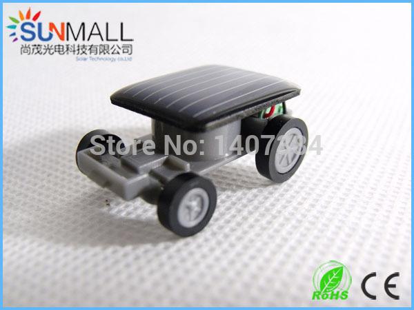 0.5V 130mAh Eco-friendly Kid Toy Mini Solar Car(China (Mainland))