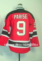 #9 Zach Parise Kids/Youth Jersey,Ice Hockey Jersey,Best quality,Authentic Jersey,Size S--XL,Accept Mix Order,cheap sale