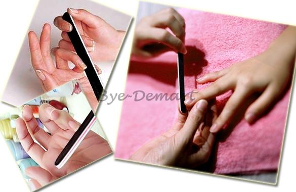 Buffing Manicure Buffing Manicure Pedicure