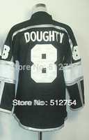 #8 Drew Doughty Jersey,Kids/Youth Ice Hockey Jersey,Best quality,Embroidery logo,Authentic Jersey,Size S--XL,Can Mix Order,cheap