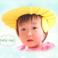Adjustable Convenient Baby Child Kids Shampoo Bath Shower Cap Hat Wash Hair Shield