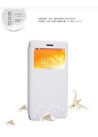High Quality Original Nillkin Window Filp Sparkle Series PU Leather Case Cover Protective Case for  Lenovo S860