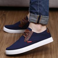 2014 Four Season Men Fashion Solid Casual Shoes Breathable Male Sneaker Canvas Shoe