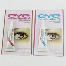 Professional genuine fake eyelash glue stick hypoallergenic multi-purpose super glue EYE eyelash glue black and white(China (Mainland))