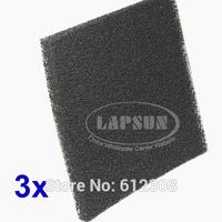 3PCS Filter Set Spec Activated Carbon Filter Sponge for HAKKO 491 493 SMOKE ABSORBER