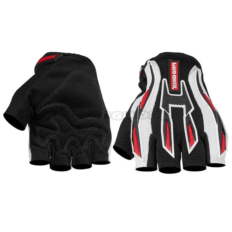 Free sample ! PRO-BIKER Moto Gloves Luvas Motorcycle MTB Cycling Motocross Off Road Half Finge ...