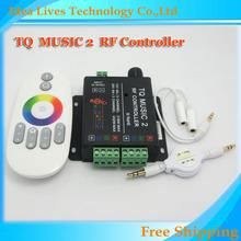 18A DC12-24V RGB Music Controller RF remoto inteligente de Sonic sensibilidad Led Backlight(China (Mainland))