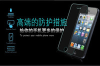 Manufacturer Wholesale For iPhone 5/5s Color Tempered Glass Screen Protector, Protective film and skin for iphone 5