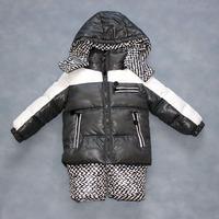 2014 Winter children down jacket parkas suit set coat+pants sets male female child girls boys clothing for kids