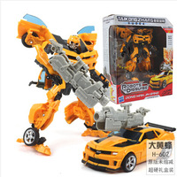 New 2014 Edition Transformation Bumblebee Action Figures Voyager Class Robot toy with retail package