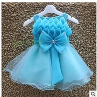 2014 Children Clothing  Kids Girl dress Cute girl princess Wedding party Dress children dress for girl Evening Dresses