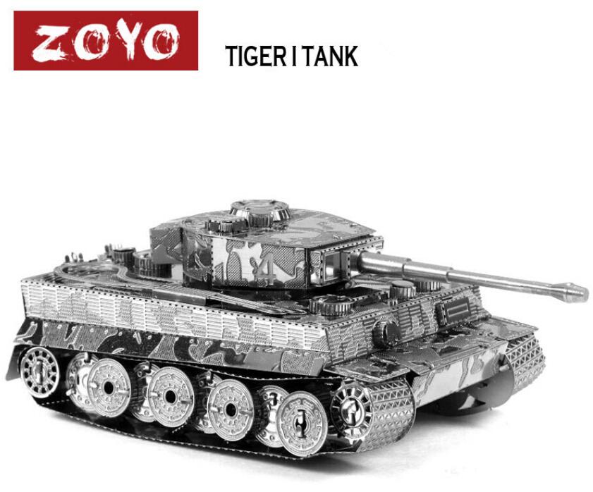 3d Model Tiger i Tank