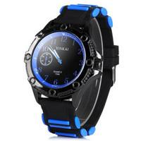 Top Fashion Man Watch Round Dial Rubber Band Watches Men Luxury Brand Decorative Analog Display Men Wristwatches