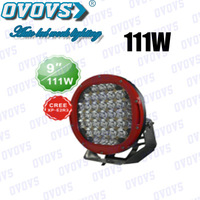 9 inch 111W Cree Flood Spot Led Driving Work Light 4WD Lamp Offroad 4x4 Truck SUV