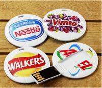 Free Shipping Mini Flash Drive With Logo Full Capacity 1GB/2GB/4GB/8GB/16GB/32GB/64GB Logo USB Flash Drive