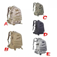 Outdoor Military Tactical Army Hunting 3 Day Molle Assault Backpack Bag ZD1017