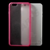 For iPhone 6 Plus Case , Matte Plastic TPU Edge Hybrid Case for iPhone 6 Plus 5.5 inch