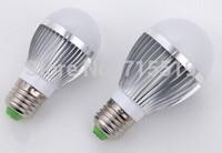 E27 dimmable global led bulbs  3w 5w 300LM 500LM SMD5730  Aluminum 200PCS