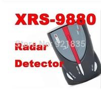2014 New Car Radar Detector Cobra XRS 9880 Full Band High Performance detector Car Laser Anti radar detector Russ English Voice