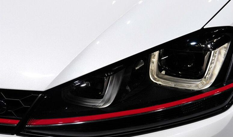 Volkswagen Golf 7 MK7 VII 2013~2014 LED GTI Version Red Line UU Style Headlight / golf 7 gti LED headlight(China (Mainland))