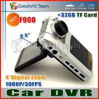 Top F900 Car DVR F900 Car Black Box HD 1080P 30FPS 1440x1080 Pixels HDMI Interface 120 Degrees Lens Angle
