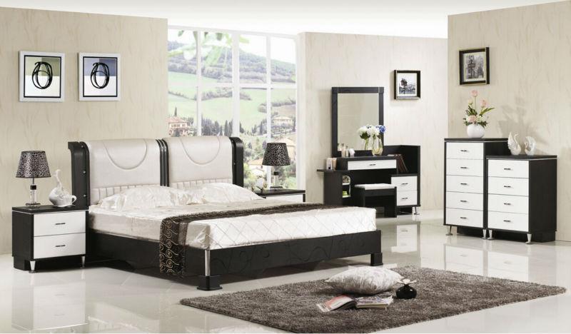 suite de lujo muebles de dormitorio de tipo europa estilo incluyendo 2