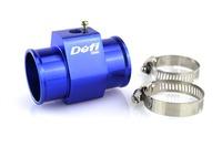 Alloy 38mm Water temp Sensor Adaptor Gauge Radiator Hose Adaptor blue/auto meter/car meter/tachometer