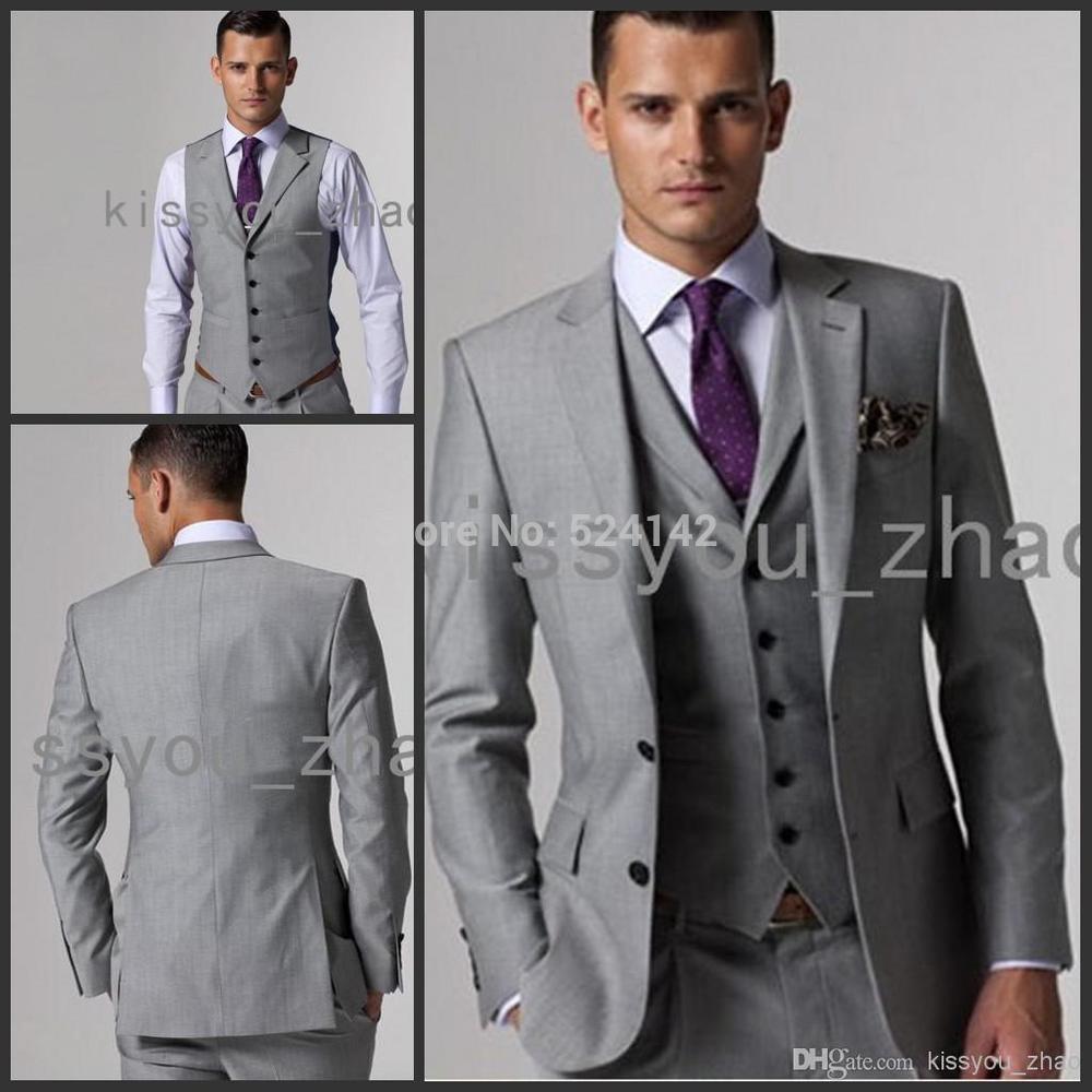 Awesome Light Grey Wedding Suit Ideas - Styles & Ideas 2018 - sperr.us