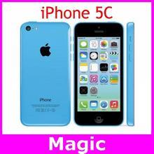 5C Original Unlocked Apple iPhone 5C Dual Core IOS GPS WIFI 4.0 Screen 16GB/32GB storage mobile Phone