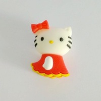 Fast ship 4gb 8gb 16gb 32gb cartoon red Cat Hellokitty in skirt USB 2.0 flash drive memory pen disk Drop ship dropshipping