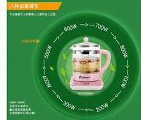 electric TEA kettle  glass electric kettle  FREE SHIPPING SHUANG HU Glass health pot
